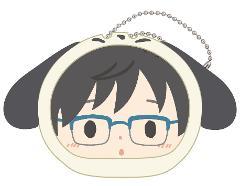 ユーリ!!! on ICE × サンリオキャラクターズ おまんじゅうにぎにぎマスコット 勇利&ポチャッコ