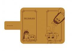 手帳型マルチケース「ポプテピピック」01/イメージデザイン01
