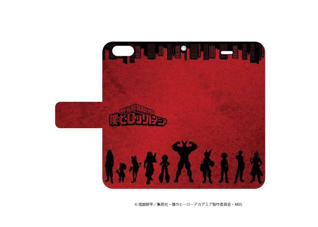 手帳型スマホケース(iPhone6/6s/7兼用)「僕のヒーローアカデミア」02/イメージデザインの商品画像
