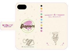 手帳型スマホケース(iPhone6/6s/7兼用)「ラブライブ!サンシャイン!!」02/桜内 梨子