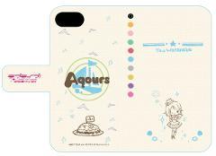 手帳型スマホケース(iPhone6/6s/7兼用)「ラブライブ!サンシャイン!!」03/渡辺 曜