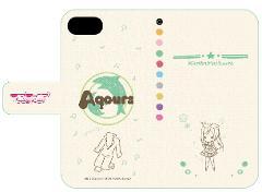 手帳型スマホケース(iPhone6/6s/7兼用)「ラブライブ!サンシャイン!!」04/松浦 果南