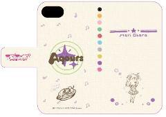 手帳型スマホケース(iPhone6/6s/7兼用)「ラブライブ!サンシャイン!!」05/小原 鞠莉