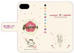 手帳型スマホケース(iPhone6/6s/7兼用)「ラブライブ!サンシャイン!!」06/黒澤 ダイヤ