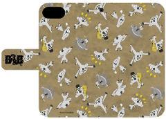 手帳型スマホケース(iPhone6/6s/7/8兼用)「血界戦線 & BEYOND」01/ソニックちりばめデザインの商品サムネイル