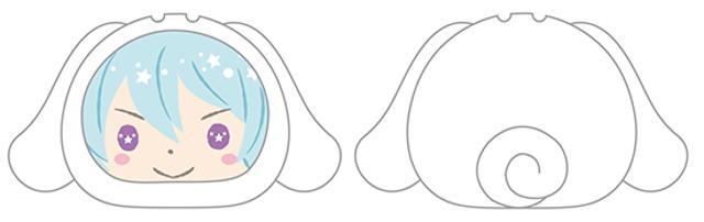あんさんぶるスターズ!×サンリオキャラクターズ おまんじゅうにぎにぎマスコット 6 日々樹渉の商品画像