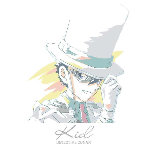名探偵コナン Ani,Art Tシャツ(怪盗キッド)/メンズ(サイズ/XL)