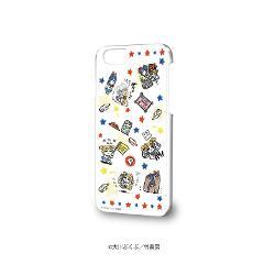 ハードケース(iPhone6/6s/7/8兼用)「ポプテピピック」01/いっぱいポプ子&ピピ美01(グラフアートデザイン)