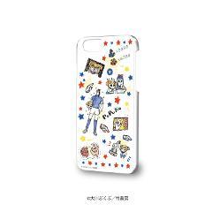 ハードケース(iPhone6/6s/7/8兼用)「ポプテピピック」02/いっぱいポプ子&ピピ美02(グラフアートデザイン)
