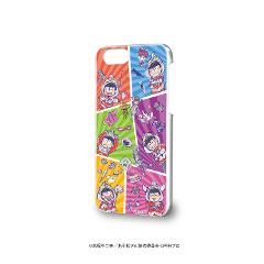 ハードケース(iPhone6/6s/7/8兼用)「ウル松さん」01/ちりばめデザイン(グラフアートデザイン)