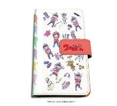 手帳型マルチケース「ウル松さん」01/ちりばめデザイン(グラフアートデザイン)