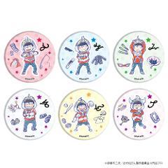 【BOX】缶バッジ「ウル松さん」(グラフアートデザイン)