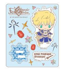 Fate/Grand Order Design produced by Sanrio stand up!アクリルマスコット アーサー・ペンドラゴン [プロトタイプ]の商品サムネイル