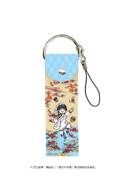 ビッグレザーストラップ「鬼灯の冷徹」04/白澤&チュン(グラフアートデザイン)の商品画像