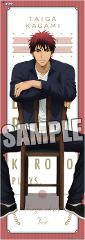 黒子のバスケ ロングクリアポスター デザインチェアーVer 火神大我の商品サムネイル