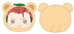 あんさんぶるスターズ!×サンリオキャラクターズ おまんじゅうにぎにぎマスコット 19 鬼龍紅郎