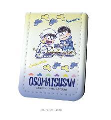 レザーフセンブック「おそ松さん」03/カラ松・十四松 場面写Ver.(グラフアート)