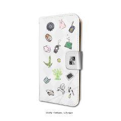 手帳型スマホケース(iPhone6/6s/7/8兼用)「K SEVEN STORIES」01/白銀のクラン&緑のクラン(jungle)(グラフアート)