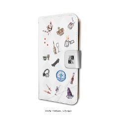 手帳型スマホケース(iPhone6/6s/7/8兼用)「K SEVEN STORIES」02/赤のクラン(吠舞羅)&青のクラン(セプター4)(グラフアート)