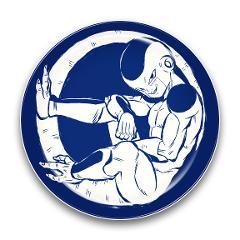 ドラゴンボールZ 陶磁器絵皿(セラミックプレート)③フリーザ