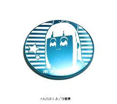 レーザー缶バッジ「ポプテピピック」02/ピピ美