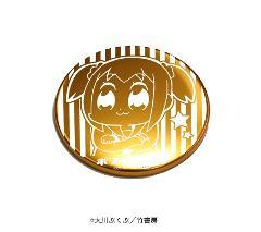 レーザー缶バッジ「ポプテピピック」01/ポプ子
