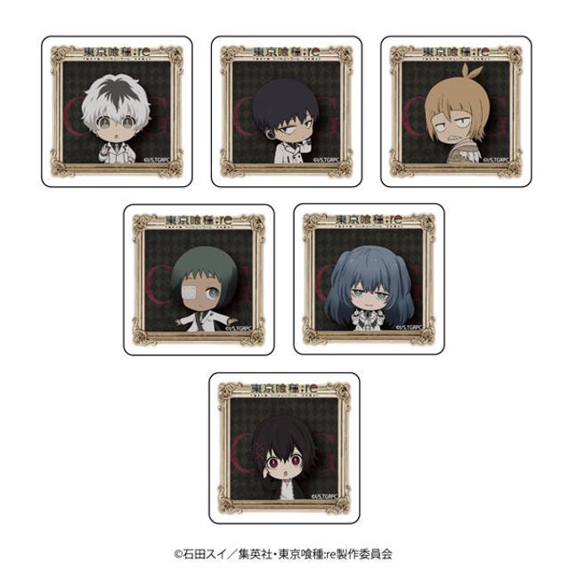 【BOX】キャラアクリルバッジ「東京喰種:re」01/ブラインド/4K(全6種)の商品画像