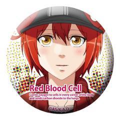はたらく細胞 54mm缶バッジ 赤血球