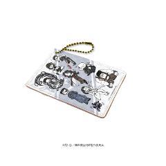 キャラパス「鋼の錬金術師 FULLMETAL ALCHEMIST」02/ブラック(グラフアート)の商品サムネイル