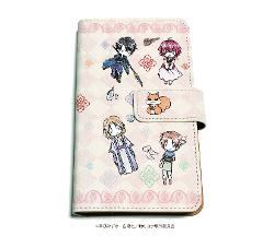 手帳型マルチケース「暁のヨナ」08/集合デザイン ピンク(グラフアート)の商品サムネイル