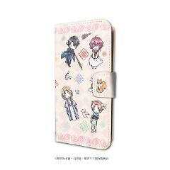 手帳型スマホケース(iPhone6/6s/7/8兼用)「暁のヨナ」03/集合デザイン ピンク(グラフアート)の商品サムネイル