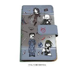 手帳型マルチケース「鋼の錬金術師 FULLMETAL ALCHEMIST」02/ブラック(グラフアート)の商品サムネイル