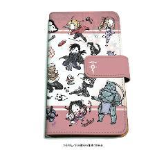 手帳型マルチケース「鋼の錬金術師 FULLMETAL ALCHEMIST」01/レッド(グラフアート)の商品サムネイル