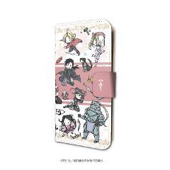 手帳型スマホケース(iPhone6/6s/7/8兼用)「鋼の錬金術師 FULLMETAL ALCHEMIST」01/レッド(グラフアート)の商品サムネイル