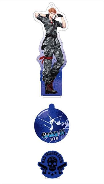 ヒプノシスマイク スタンドアクリルキーホルダー 毒島メイソン理鶯の商品画像