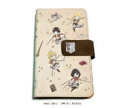 手帳型マルチケース「進撃の巨人 Season 3」01/調査兵団(グラフアート)