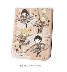 レザーフセンブック「進撃の巨人 Season 3」02/ユミル・クリスタ・ライナー・ベルトルト(グラフアート)