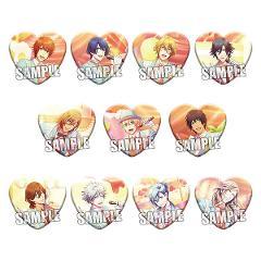 【BOX】うたの☆プリンスさまっ♪ Shining Live トレーディングハート型缶バッジ Sweet Cafe LIVE Ver.