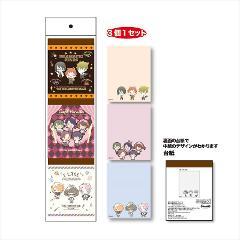 3Pメモ帳アイマス SideM Design produced by Sanrio/A