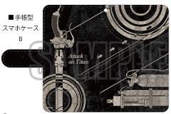 進撃の巨人 手帳型スマホケースB