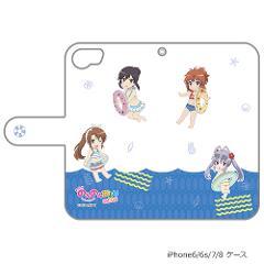 5eec2a8803 劇場版 のんのんびより手帳型スマホケース(SDキャラ)iPhone6&7&8兼用