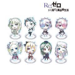【BOX】Re:ゼロから始める異世界生活 トレーディングデフォルメAni-Artアクリルスタンド