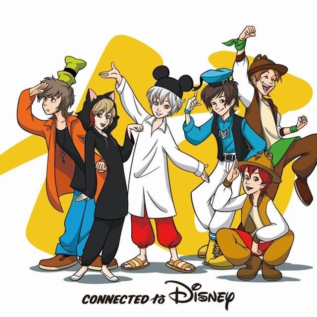 【アルバム】Connected to Disney 通常盤の商品画像