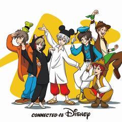 【アルバム】Connected to Disney 通常盤の商品サムネイル