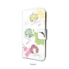 手帳型スマホケース(iPhone6/6s/7/8兼用)「ラッキードッグ1」03/ちりばめ(KAOKAO)の商品サムネイル