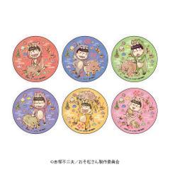 【BOX】缶バッジ「おそ松さん」04/イノシシVer. ボックス(全6種)(グラフアート)