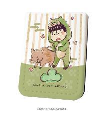 レザーフセンブック「おそ松さん」07/チョロ松 イノシシVer.(グラフアート)