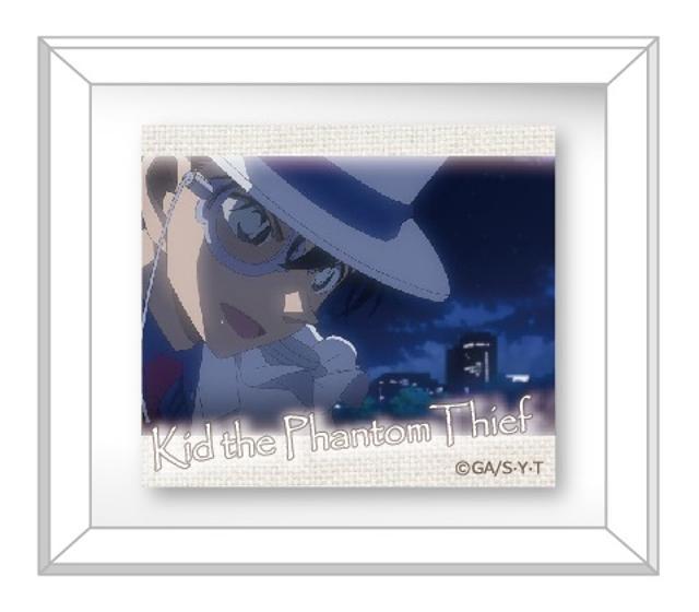 名探偵コナン Miniミュージアムバッジ 怪盗キッドの商品画像