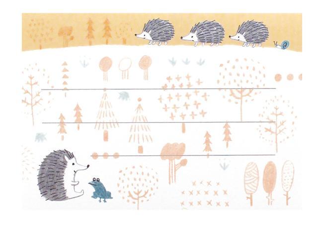 ラベルステッカー 森の商品画像