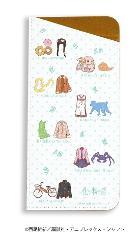 キャラグラスケース「化物語」01/モチーフデザイン ドット柄(グラフアート)の商品サムネイル